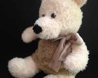 Teddy Bear, Second Chance, Ivory