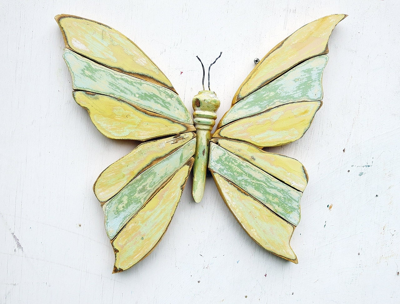 Funky Metal Art Butterfly Wall Decor Sketch - Art & Wall Decor ...