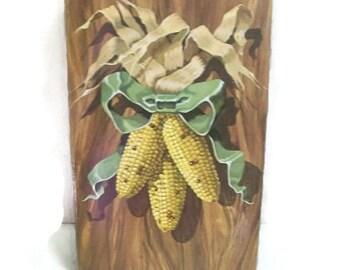 Avon Autumn Harvest Hanging Decorative Pomander   Ears Of Corn Scented Decoration
