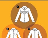 Granville Shirt - Sewaholic - Sewing Pattern