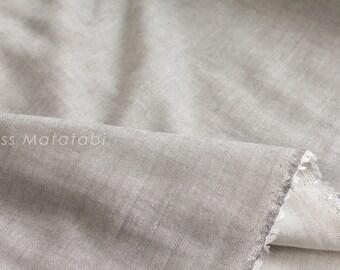 Japanese Fabric Kokochi Double gauze - GRY -  50cm