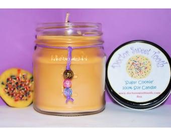 Soy Mason Jar Candle 8oz - You Choose Scent