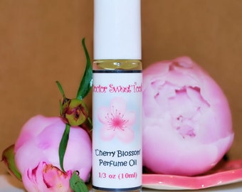 Cherry Blossom Perfume Oil Roll-On