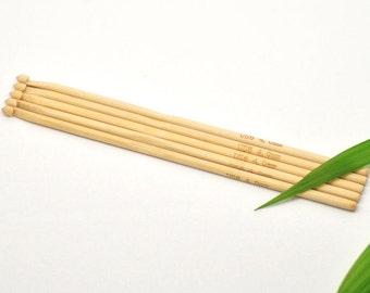 Crochet Hook Bamboo  - 4mm G-6 hook