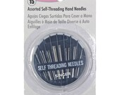 Singer NEEDLES - Self-Threading Hand Needle Compact