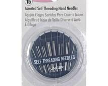 Singer NEEDLES - Self-Threading Hand Needle Compact