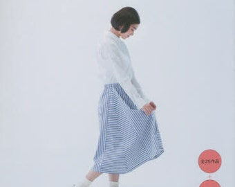 Easy Cute Straight Stitch Comfortable Clothes - Japanese Craft Book