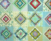 Queen Quilt  In Amy Butler Fabrics With Matching Shams