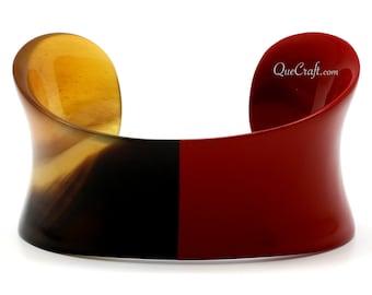 Horn & Lacquer Cuff Bracelet - Q9642-R