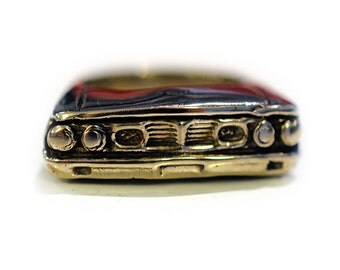 1964 Ford Galaxie Ring in Sterling Silver