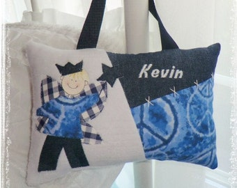 Personalized Boys Keepsake Tooth Fairy Pillow - Tye Dye Peace