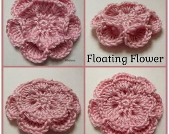 Floating Flower ~ Crochet Pattern