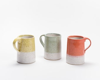 Dipped Mug in Speckled Stoneware