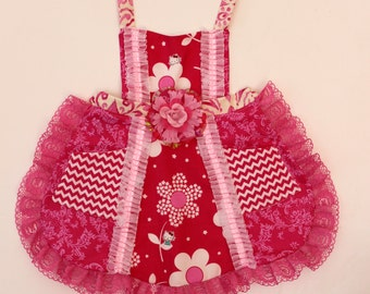 Frilly Hello Kitty  Apron