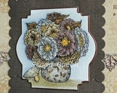 Vintage Kindness - hand made greeting card