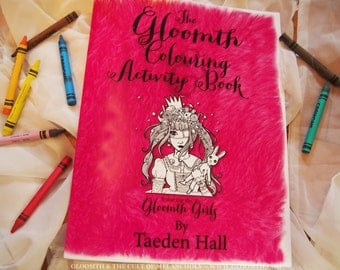 Gloomth Adult Coloring and Activity Book Volume 1