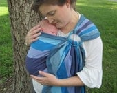WCRS -Wrap Conversion Ring sling Finnish Diamond by Lenny Lamb -Pleated Shoulder - DVD included