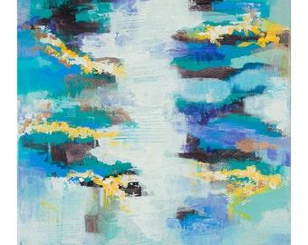 Lavender Ocean Print