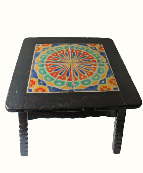 Antique Catalina Tile Table Arts And Crafts By ModishVintage