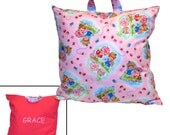 STRAWBERRY SHORTCAKE PILLOW - Personalized Pillow for Travel
