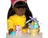 AMERICAN GIRL EASTER Set - Basket With 6 Surprise Gifts to Open! - Doll Accessories