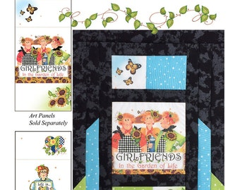 Pattern Art Panels with Quilt Labels