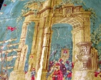Old piece of Toile - absolutely beautiful