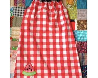 Watermelon Dress Girls 6