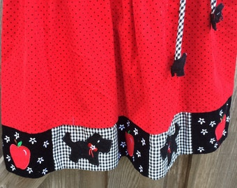 Scottie Dog Dress Girls 5