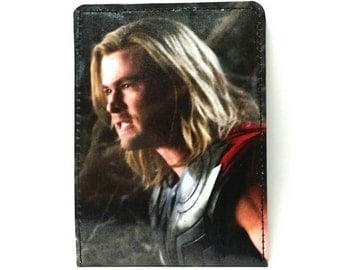 Sewn Story/Comic Book Wallet - Avengers - Thor Design 2