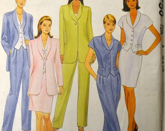 Sewing Pattern McCall's 8750 Misses' Separates   Complete Uncut