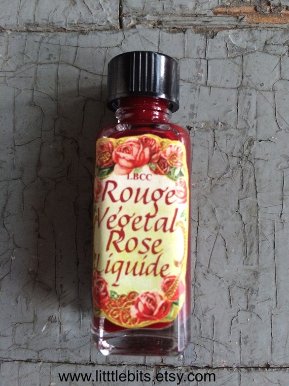 1920s Makeup Starts the Cosmetics Industry – History 1922 Vegetal Rose Liquid Rouge $10.00 AT vintagedancer.com