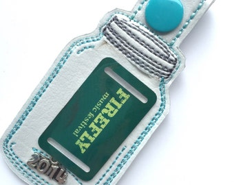 DIY Your chip in Firefly Festival Souvenir keychain vinyl key fob
