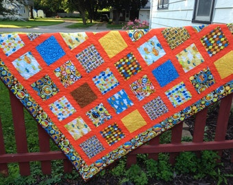 On the Go  lap quilt