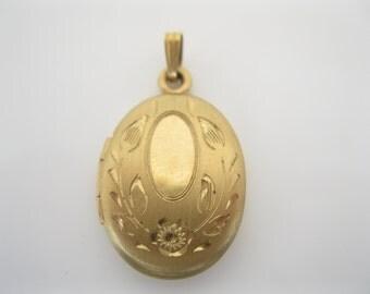 Vintage goldfill locket