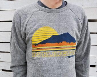 HOLD for ecost7292 - Burlington Vermont Crew Neck Sweatshirt