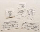 Custom Care Labels, CPSIA Labels, FTC Labels