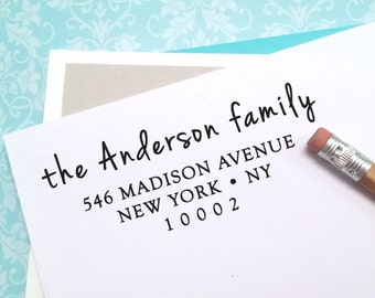 custom ADDRESS STAMP with proof from USA, Eco Friendly Self-Inking stamp, rsvp address stamp, custom stamp, custom address stamp, stamper 41