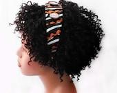 Headband, African Headband, Natural Hair Headband, Hair Accessories, Wide Headband, Natural Hair, Afropunk, Oluchi African Fabric Headband
