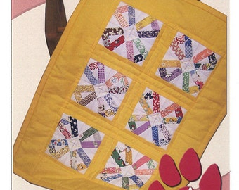 A Paper Pieced Mini CANDY & LEMON DROPS Quilting Pattern Sewing Fabric