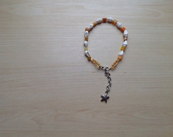 Women's Seashell Adjustable Anklet    Free Shipping!     Sale Item!