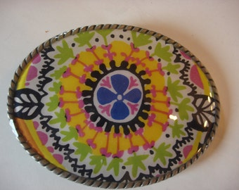 Womens Belt Buckle - Color Pop