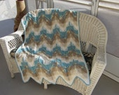 SPECIALLY PRICED ,,,  DARLENE' S  Southwest Ripped Afghan ,,,,,   Pattern Only
