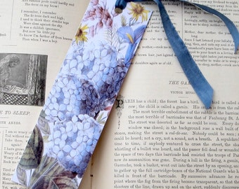 Hydrangea Bouquet Bookmark, Art Tag or Gift Tag PSS 1951
