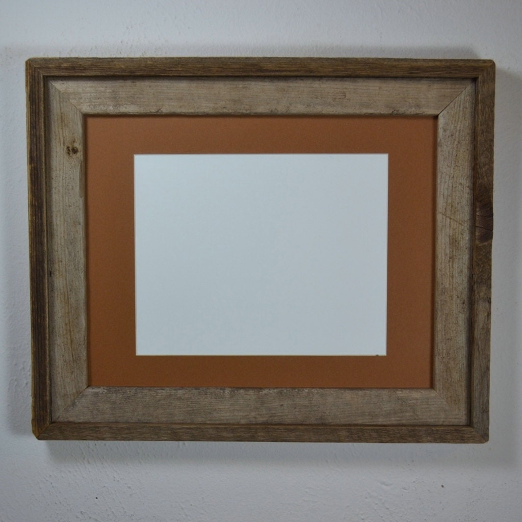 Picture Frame 11x14 With Mat For 8x108x12 Or 9x12 Handmade In
