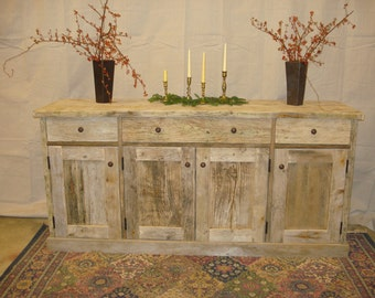 Driftwood Sideboard Cabinet (120 x 21 x 36h)