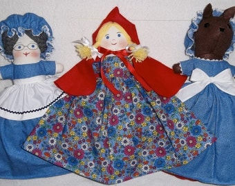 Red Ridinghood Storybook Doll