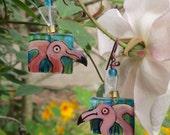 04 flamingo earrings 1094