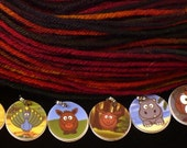 Baby ANIMALS stitchmarkers for KNITTERS or CROCHETERS
