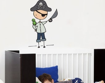 Ahoy, Mateys - Wall Decal - Wall Sticker